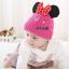 หมวก สีโรส หูมินนี่เมาส์ ไซส์ 3-10 เดือน thumbnail 3