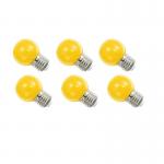 หลอดปิงปอง LED 1W เหลือง