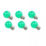 หลอดปิงปอง LED 1W เขียว