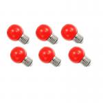 หลอดปิงปอง LED 1W แดง
