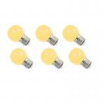 หลอดปิงปอง LED 1W วอร์มไวท์