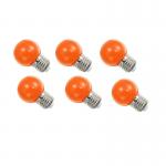 หลอดปิงปอง LED 1W ส้ม