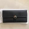 กระเป๋าสตางค์ใบยาวสีดำ