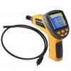 """Endoscope Snake camera (กล้องตรวจสอบในท่อ หรือกล้องงู) ขนาดเส้นผ่านศูนย์กลางท่อ 10mm ยาว 1 เมตร 3.5"""" LCD ราคาถูก"""