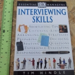 Interviewing Skills (Essential Managers)