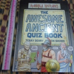 The Awesome Ancient Quiz Book (Horrible Histories)