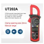 Clamp Meter คลิปแอมป์ แคลมป์มิเตอร์ ยี่ห้อ UNI-T รุ่น UT202A สำหรับวัดกระแส 600A แรงดัน 600V ราคากันเอง