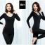 ลองจอน ฮีทเทค กันหนาว Long Johns Heattech ผู้หญิง สีดำ (เสื้อ+กางเกง) thumbnail 2