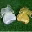 กระเป๋าใส่สตางค์สีเงินหรือสีทอง แพ็คถุงผ้า เลือกสีถุงผ้าได้ พร้อมป้ายชื่อ thumbnail 1
