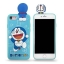 Doraemon & Luffy เกาะ iPhone 5/5S/SE thumbnail 2
