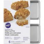 Wilton 6 Cav Mini Loaf Pan (2105-9791)