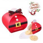 SANTA BOX (กล่องไขว้) คัพเค้ก ตัวซานต้าสีแดง