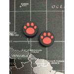 ซิลิโคนอนาล็อกตีนแมวแบบเล็ก (XboxOne Switch) - สีแดง