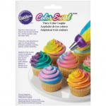 Wilton multi color coupler ล็อคหัวบีบ (411-1992) / COLOR SWIRL 3-COLOR COUPLER