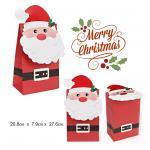 กล่องเค้ก ซานต้าเต็มตัว