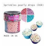 Sprinkles pearly drops (004) ทรงมุกคละสี ชมพู/ม่วง/เขียว/แดง