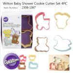 Wilton Baby 4 PC Colored Theme Set (2308-1067)