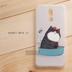 เคส Huawei NOVA 2i เคสนิ่ม TPU พิมพ์ลาย แบบที่ 14