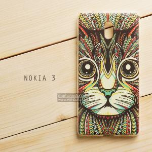 เคส Nokia 3 เคสนิ่ม TPU พิมพ์ลาย แบบที่ 3