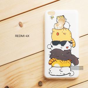 เคส Xiaomi REDMI 4X เคสนิ่มสกรีนลายสามมิติ 3D ลายที่ 8