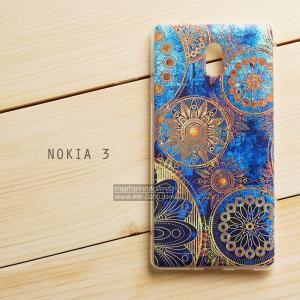 เคส Nokia 3 เคสนิ่ม TPU พิมพ์ลาย แบบที่ 5