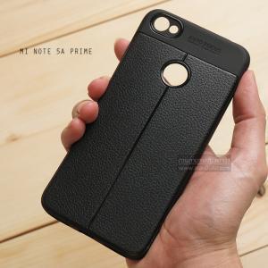 เคส Xiaomi Redmi Note 5A Prime เคสนิ่ม Hybrid เกรดพรีเมี่ยม ลายหนัง (ขอบนูนกันกล้อง) แบบที่ 2 (มีเส้นตรงกลาง)