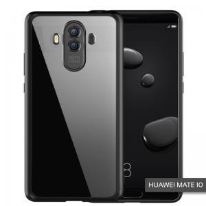 เคส Huawei Mate 10 เคส Hybrid ฝาหลังอะคริลิคใส ขอบยางกันกระแทก สีดำ
