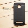เคส Moto Z2 Play เคสนิ่มเกรดพรีเมี่ยม (Texture ลายโลหะขัด) กันลื่น ลดรอยนิ้วมือ สีดำ