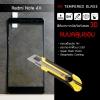 (มีกรอบ 3D แบบคลุมขอบ) กระจกนิรภัย-กันรอยแบบพิเศษ ขอบมน 2.5D ( Xiaomi Note 4X ) ความทนทานระดับ 9H สีดำ