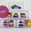 กล่องใสเก็บรถของเล่น กล่องเก็บรถเหล็ก Tomica hotwheel ต่อแบบเลโก้ได้หลายแบบ เซต 8 ชิ้น LEGO CAR BOX 8 PIECES SET