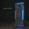 เคส Samsung Galaxy C9 Pro เคสบั๊มเปอร์ กันกระแทก Defender (พร้อมขาตั้ง) สีน้ำเงิน