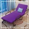 เตียงพับ รุ่น SF02 สีม่วง