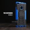 เคส Xiaomi MI MAX 2 เคสบั๊มเปอร์ กันกระแทก Defender (พร้อมขาตั้ง) สีน้ำเงิน