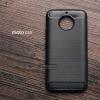 เคส Moto G5s เคสนิ่มเกรดพรีเมี่ยม (Texture ลายโลหะขัด) กันลื่น ลดรอยนิ้วมือ สีดำ