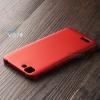 เคส Vivo Y27 เคสแข็งสีเรียบ คลุมขอบ 4 ด้าน สีแดง
