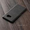 เคส Samsung Galaxy Note FE เคสอะครีลิค ลายหนัง สีเทา