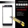 (มีกรอบ 3D แบบคลุมขอบ) กระจกนิรภัย-กันรอยแบบพิเศษ ขอบมน 2.5D ( Vivo V3 ) ความทนทานระดับ 9H สีดำ