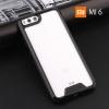 เคส Xiaomi MI 6 เคส Hybrid ฝาหลังอะคริลิคใส ขอบยางกันกระแทก สีดำ