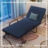 เตียงพับ รุ่น SF02 สีน้ำเงินกรมท่า