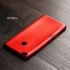 เคส Xiaomi Mi Max 2 เคสนิ่ม TPU สีเรียบ สีแดง