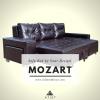 โซฟาเบด เข้ามุม เพิ่มสตู 270cm รุ่น Mozart