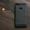 เคส Xiaomi Redmi Note 5A Prime เคสนิ่มเกรดพรีเมี่ยม (Texture ลายโลหะขัด) กันลื่น ลดรอยนิ้วมือ สีดำ