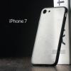 เคส iPhone 7 และ 8 เคสแข็งขอบยาง (ดำ) กึ่งโปร่งแสง
