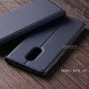เคส Xiaomi Redmi NOTE 4X เคสฝาพับเกรดพรีเมี่ยม (เย็บขอบ) พับเป็นขาตั้งได้ สีกรมท่า