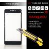 (มีกรอบ 3D แบบคลุมขอบ) กระจกนิรภัย-กันรอยแบบพิเศษ ขอบมน 2.5D (Vivo X5 Pro) ความทนทานระดับ 9H สีดำ