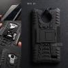 เคส Moto E4 เคสบั๊มเปอร์ กันกระแทก Defender (พร้อมขาตั้ง) สีดำ