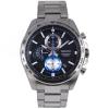 SEIKO Sport นาฬิกาข้อมือผู้ชาย Chronograph เรือนสแตนเลสหน้าปัดดำ รุ่น SSB257P1