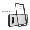 เคส Samsung Galaxy Note 8 เคส Hybrid ฝาหลังอะคริลิคใส ขอบยางกันกระแทก สีดำ