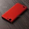 เคส Vivo X5L เคสแข็งสีเรียบ คลุมขอบ 4 ด้าน สีแดง