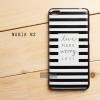 เคส Nubia N2 เคสนิ่ม TPU พิมพ์ลาย (ขอบดำ) แบบที่ 1 (พร้อม สายคล้องโทรศัพท์) Live more worry less